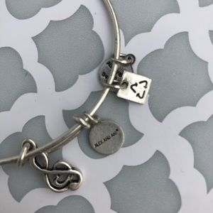 Alex and Ani music note bracelet